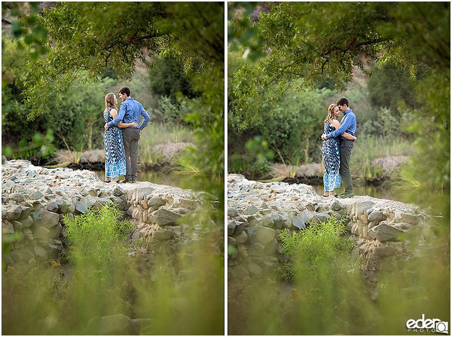 Engagement session at Old Mission Trail.