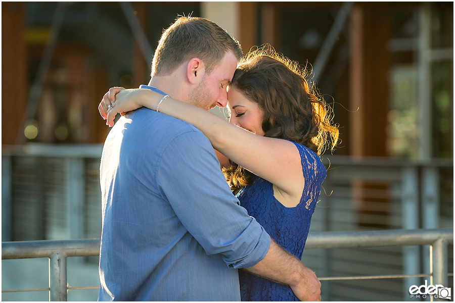 Engagement session in San Diego.
