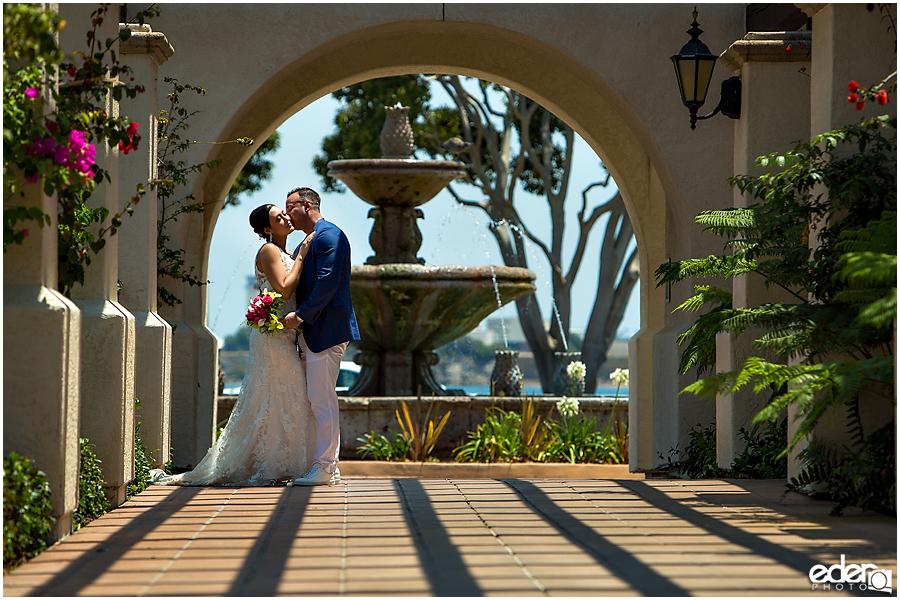 Kona Kai Resort wedding photography.