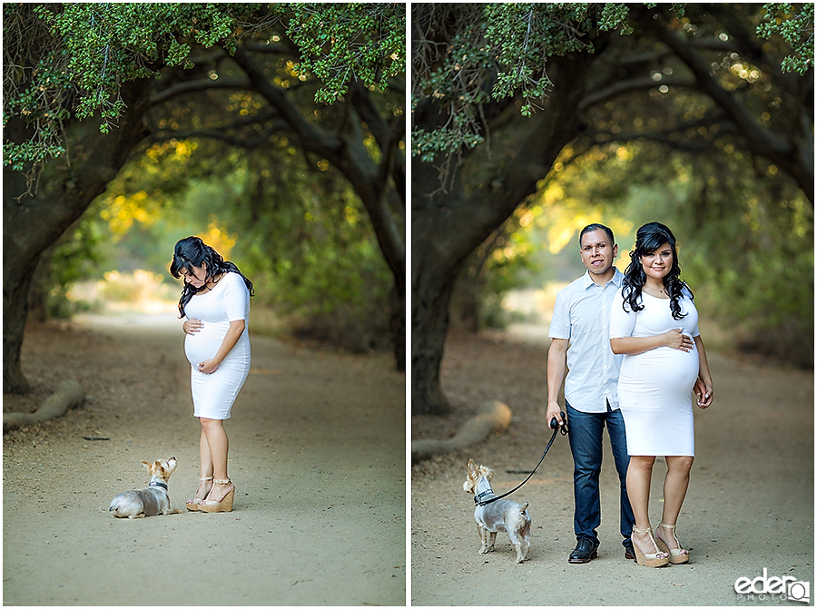 Rustic maternity photos in san diego