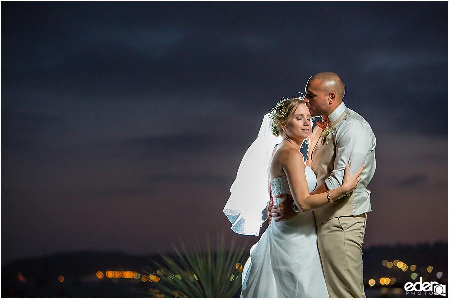 Bride and groom photos at Admiral Kidd Club Wedding.