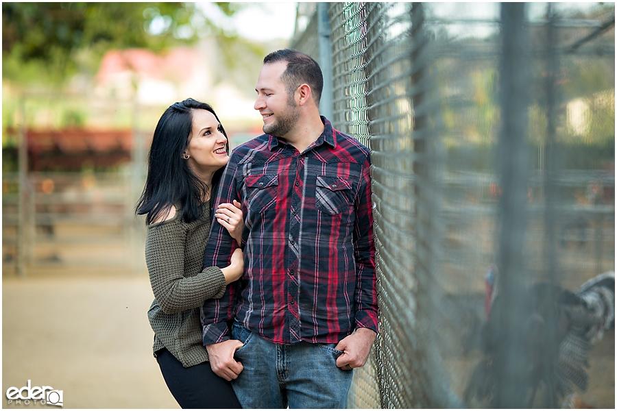 Couple at Bates Nut Farm