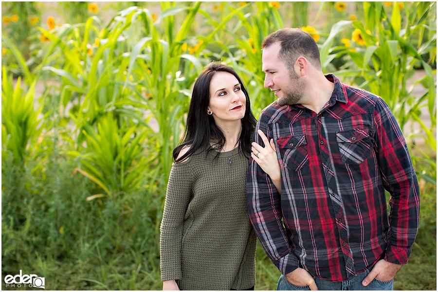Escondido Engagement Session on a farm