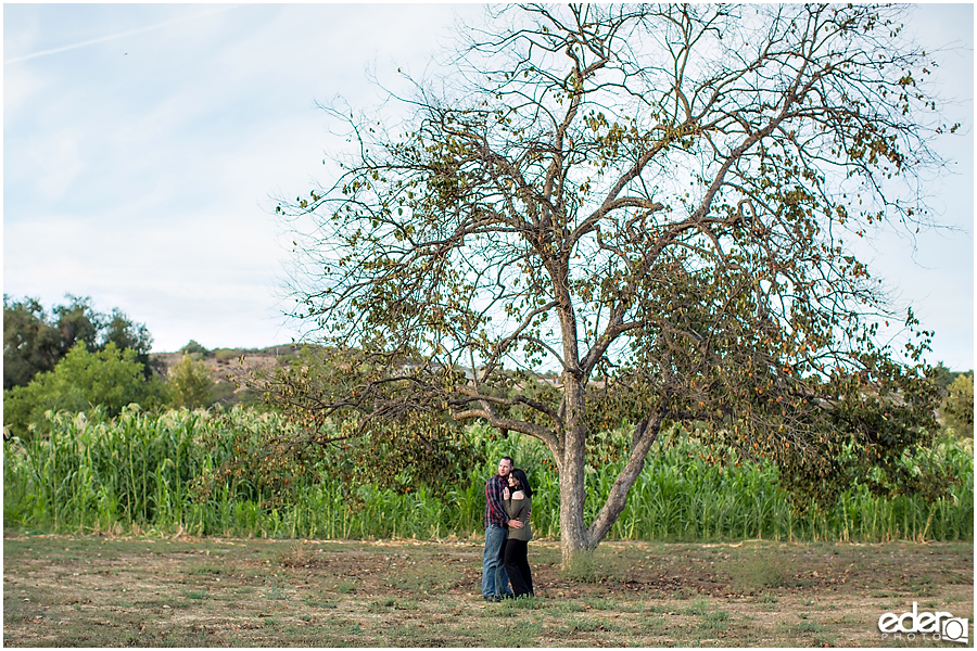 Farm engagement session in Escondido