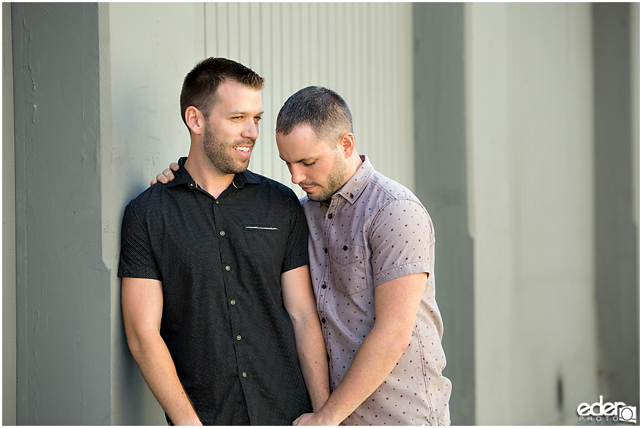Same sex engagement session in San Diego