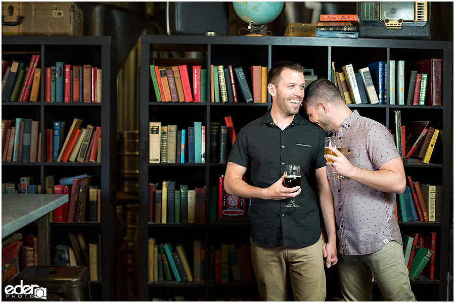 Love wins and so do these guys during their engagement session.