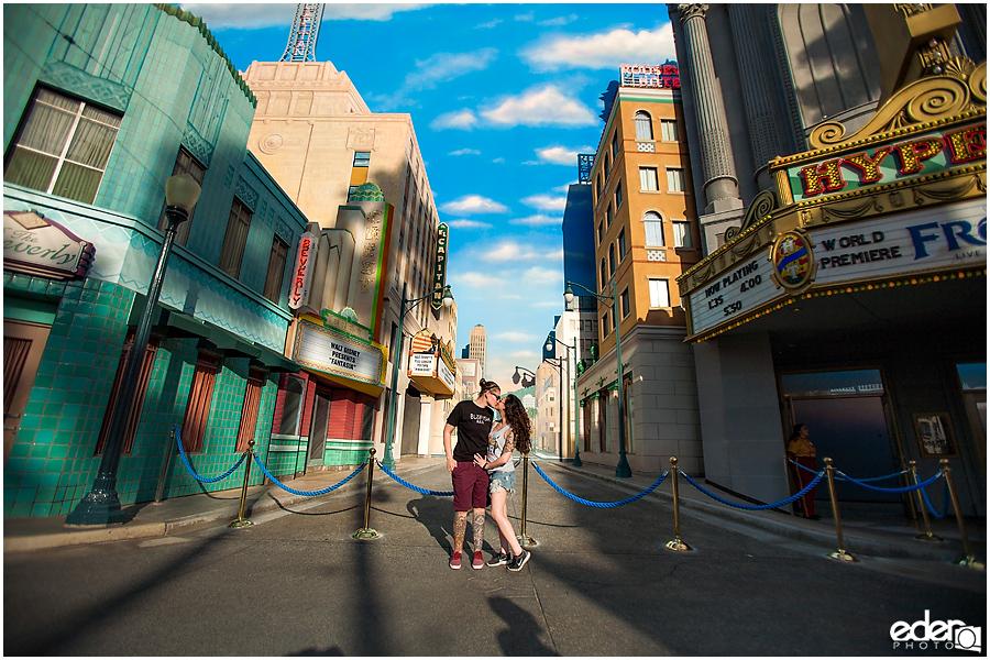 Disney California Adventure wall.
