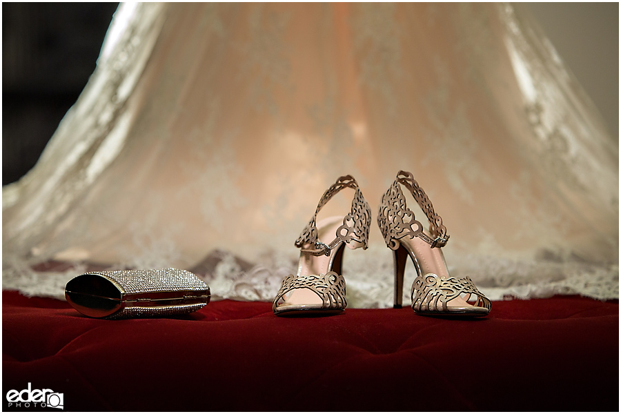 Wedding shoes at The US GRANT