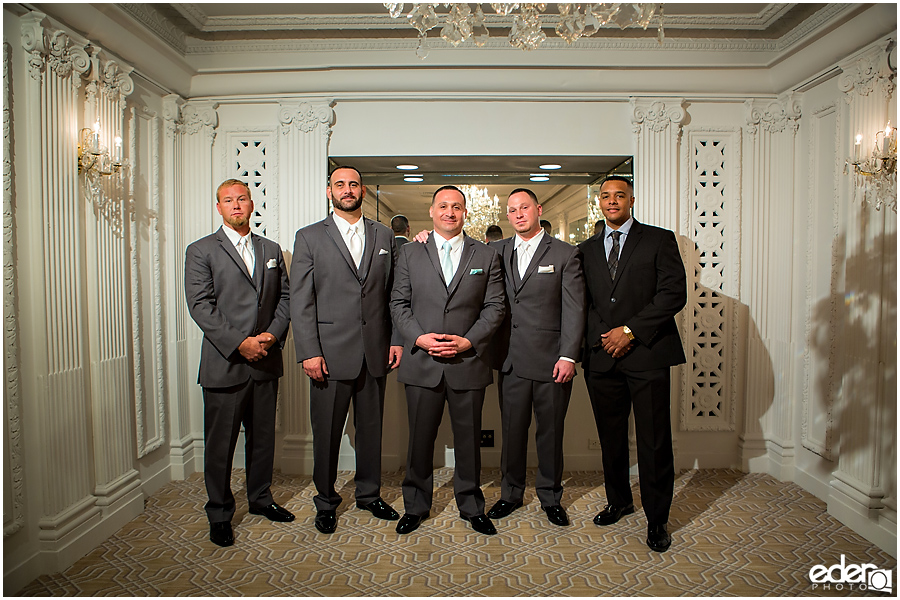 Groomsmen at Chaffee Court at The US GRANT