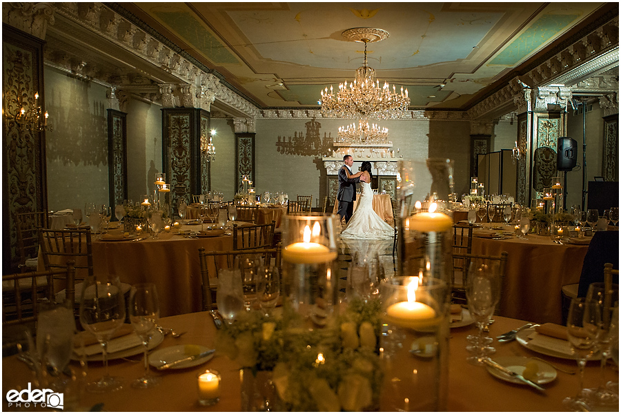 Crystal ballroom for US GRANT Wedding