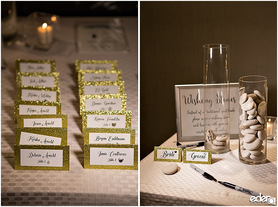 Escort Cards for US GRANT Wedding
