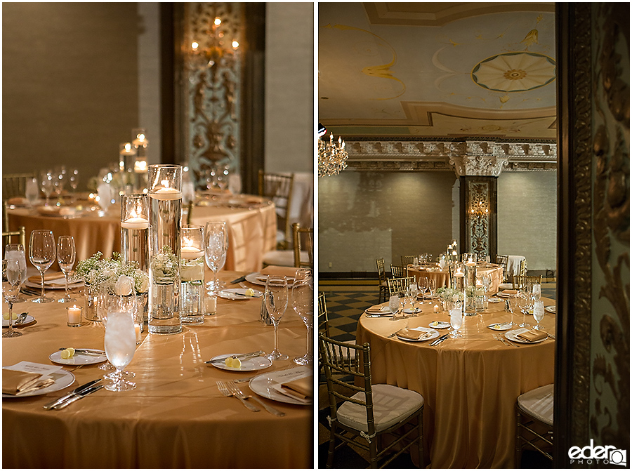 Crystal ballroom decor for US GRANT Wedding