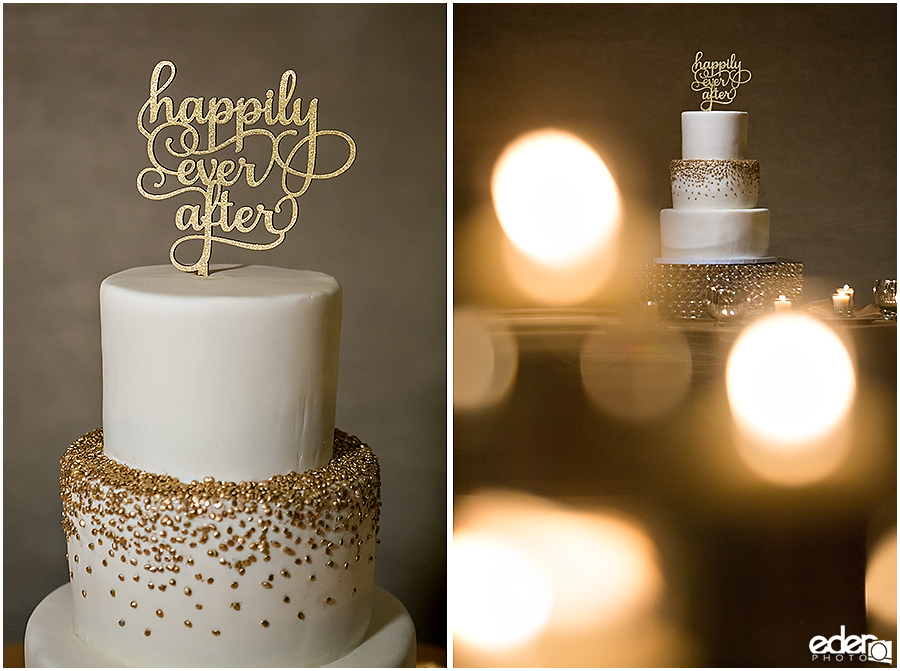 Happily Ever After Cake topper for US GRANT Wedding