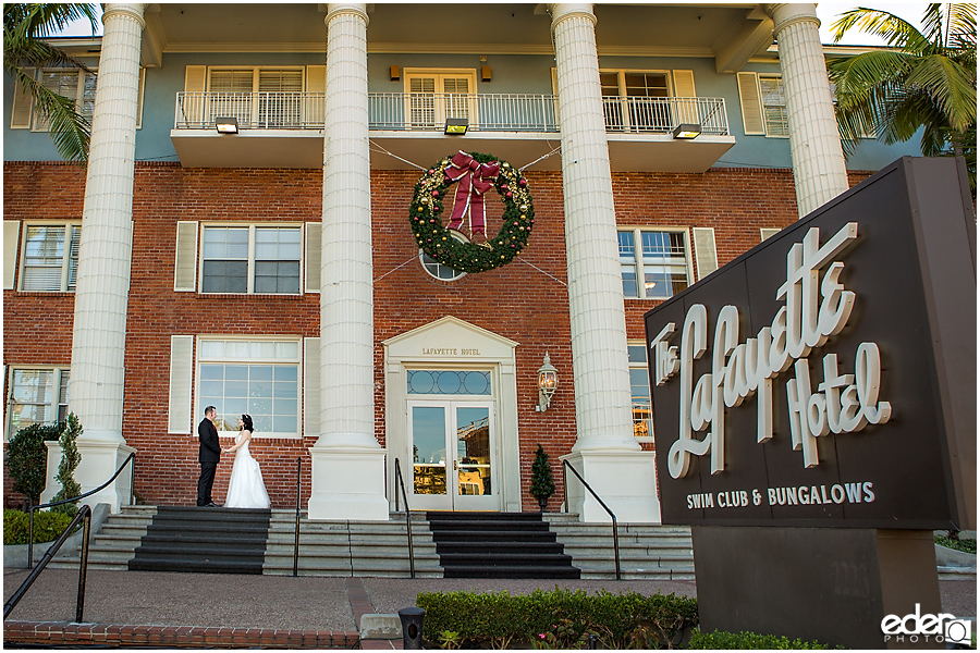 Weddings at The Lafayette Hotel