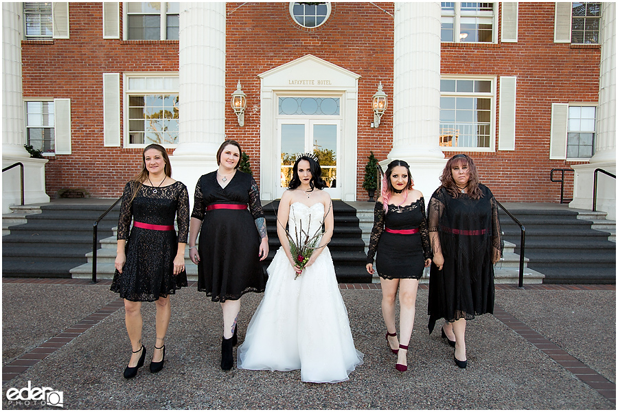 Bridesmaids at The Lafayette Hotel