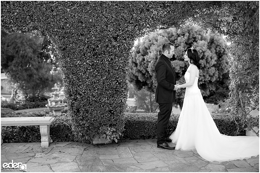 Black and white wedding at The Thursday Club