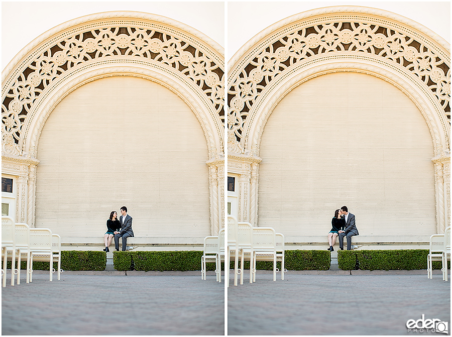 Balboa Park Wedding Portraits