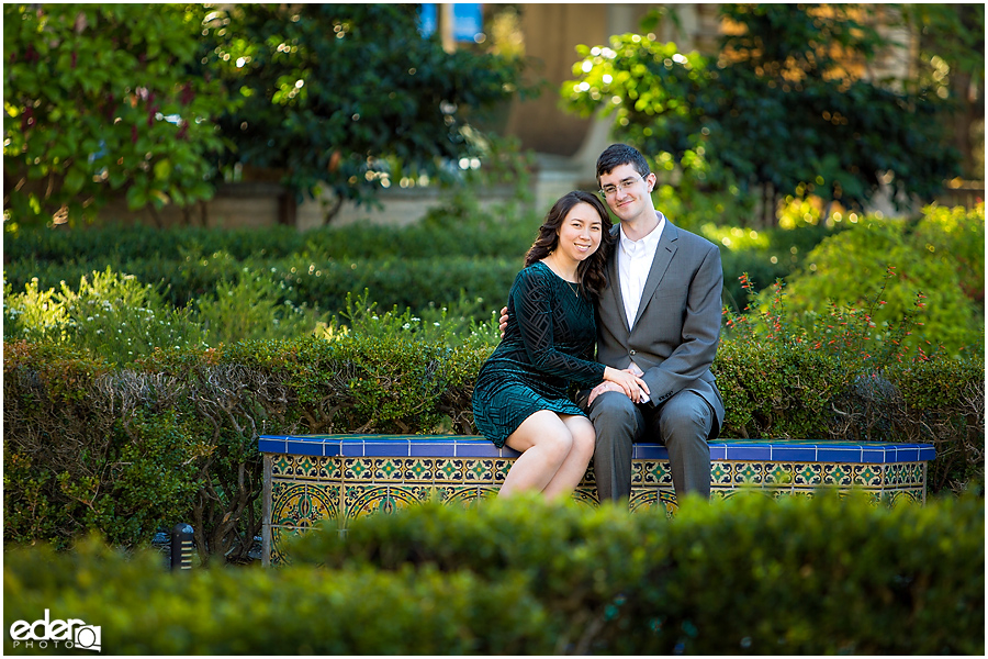 Balboa Park Garden Wedding Photos