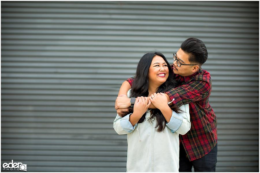 Coronado Engagement Session hug