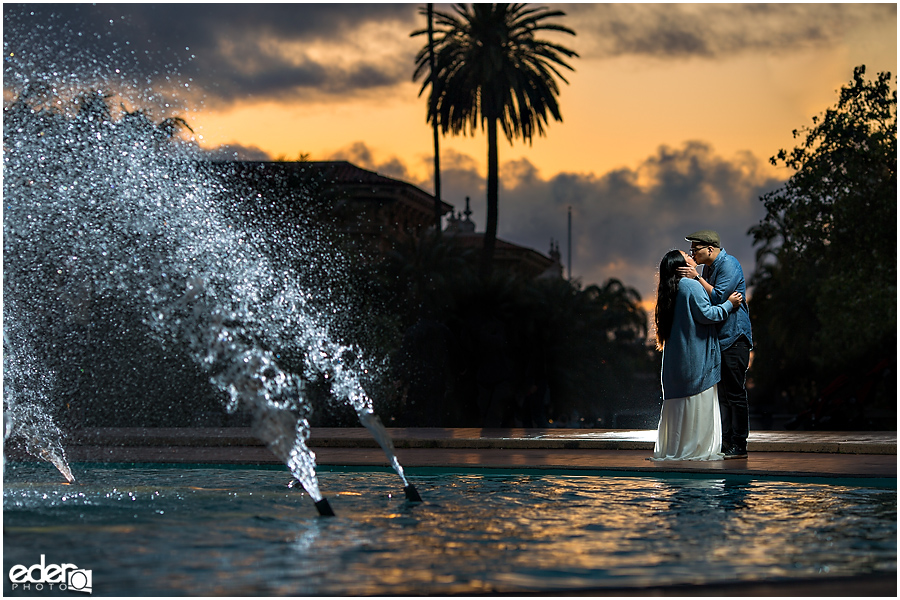 Best Engagement Photos in Balboa Park