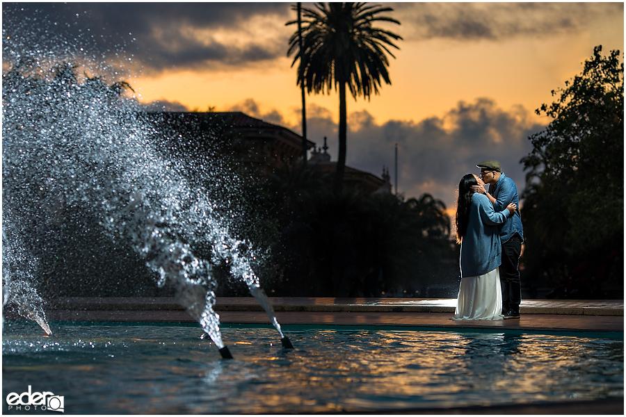 Best Engagement Photos in Balboa Park