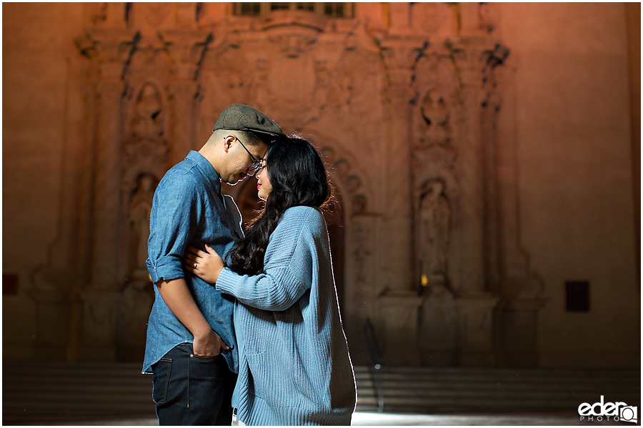 Best Engagement Photos at night