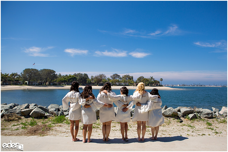 Bridesmaid robes in San Diego