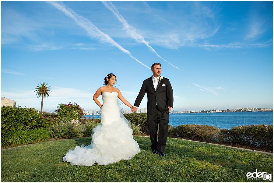 San Diego Bay Wedding Photography
