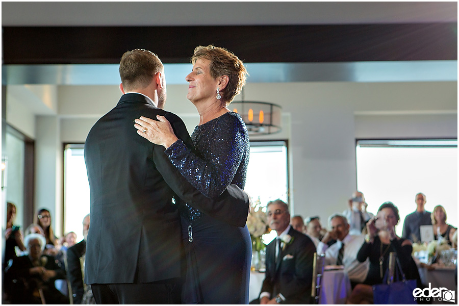 Mother Son Dance for Tom Ham's Lighthouse Wedding Photography