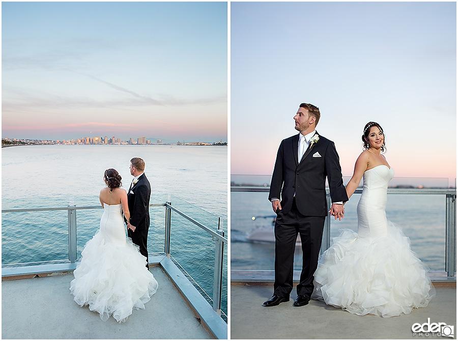 Sunset couple portraits for Tom Ham's Lighthouse Wedding Photography