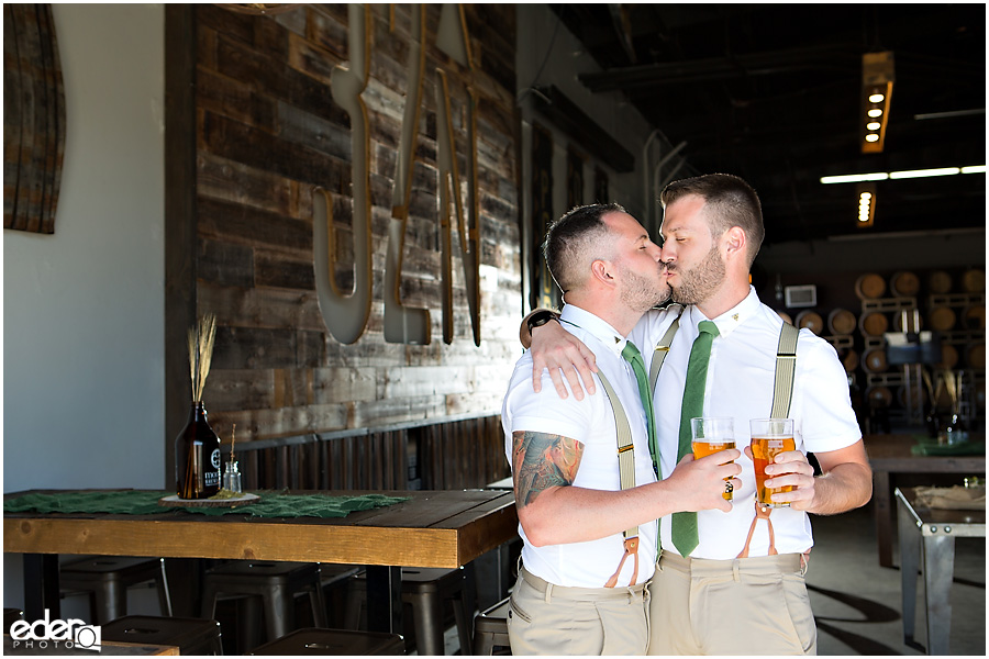 Brewery Wedding Portraits