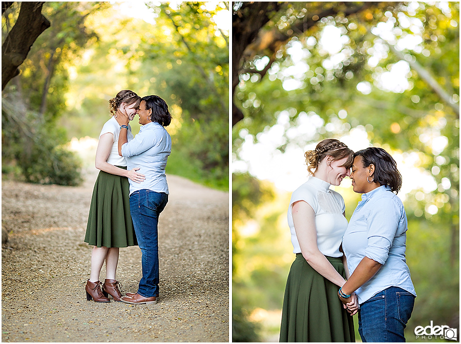 Lesbian Engagement Session Photos