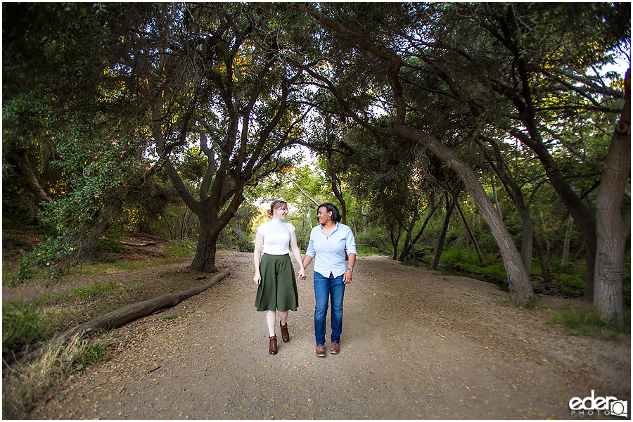 Cute and fun engagement session photos