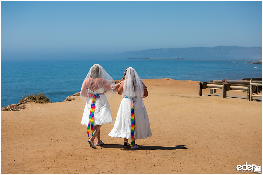 Sunset cliffs wedding in San Diego, CA