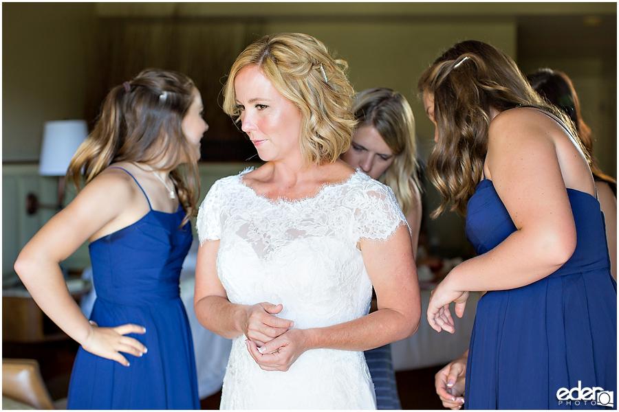 Rancho Bernardo Wedding Prep Photos - bride and bridesmaids