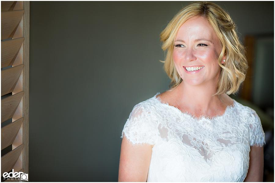 Rancho Bernardo Wedding Prep Photos - bride portraits