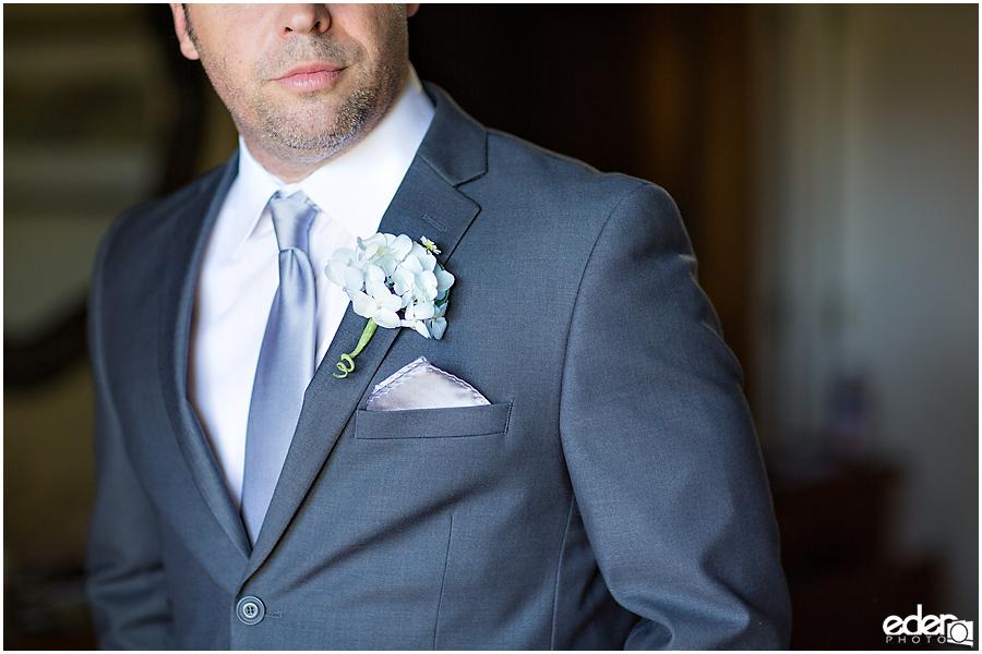 Rancho Bernardo Wedding Prep Photos - groom details