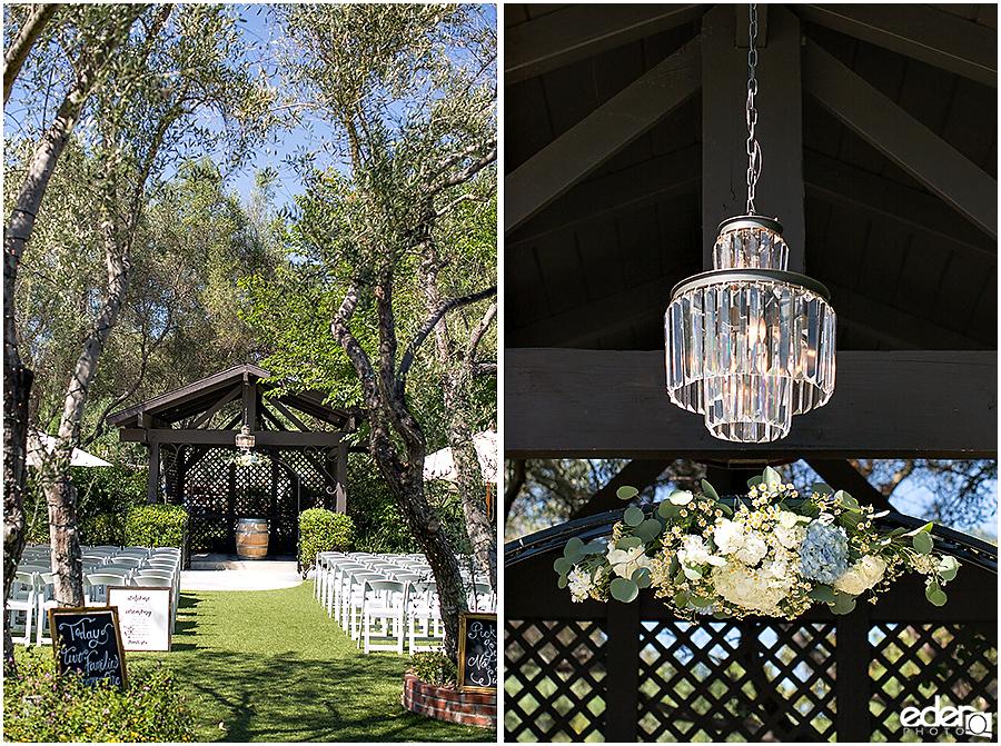 Rancho Bernardo Wedding Wedding Ceremony details
