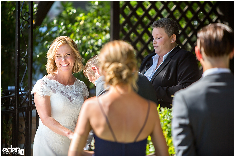Rancho Bernardo Winery Wedding Wedding Ceremony
