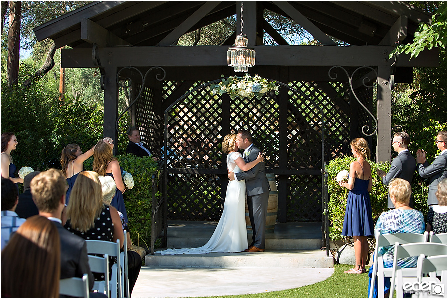 Rancho Bernardo Winery Wedding Ceremony
