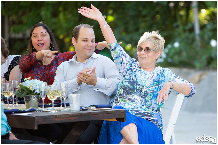 Rancho Bernardo Winery Wedding Reception