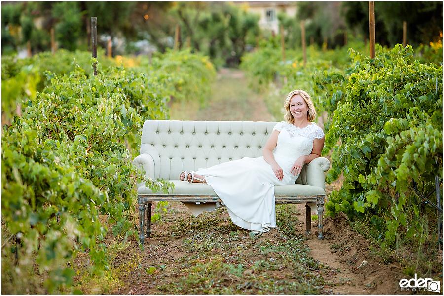 Bernardo Winery Wedding Sunset Portraits