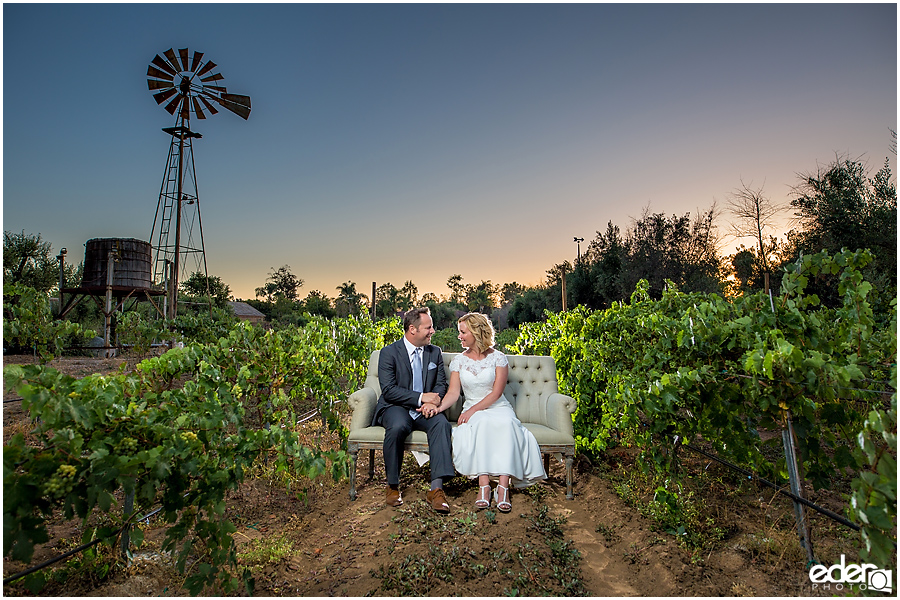 Bernardo Winery Wedding – San Diego, CA