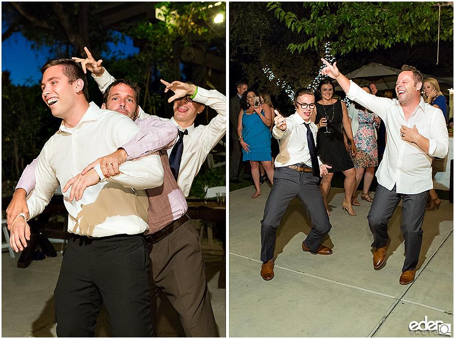 Rancho Bernardo Winery Wedding Reception Dancing