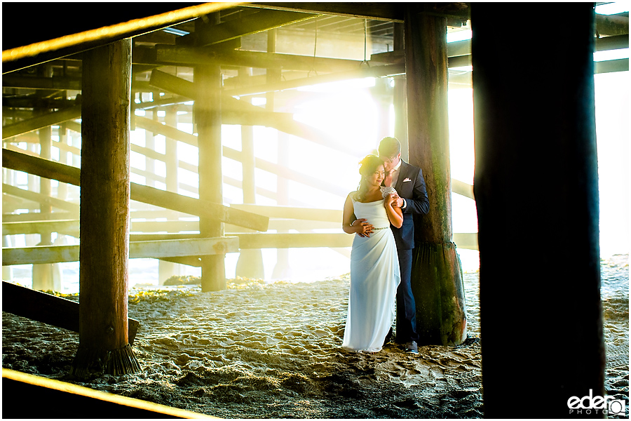 Pier Trash The Dress Session