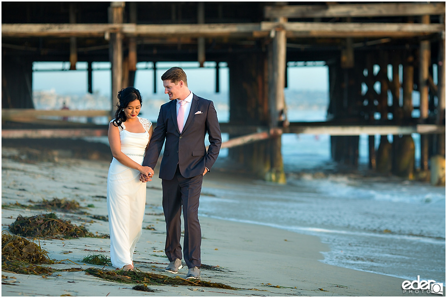 Pacific Beach Trash The Dress Session