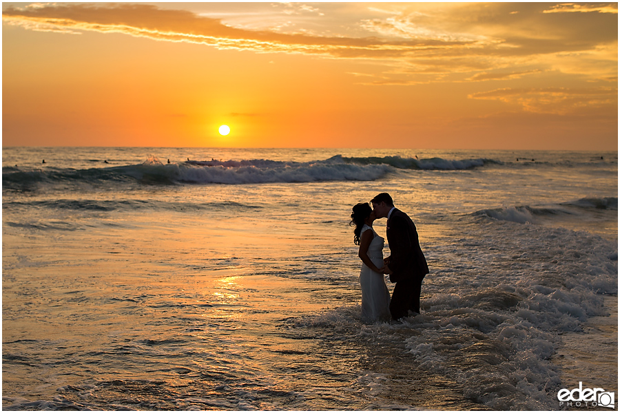 Sunset Trash The Dress Session