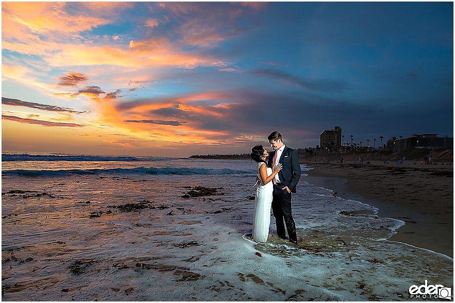 Best Trash The Dress sunset photos