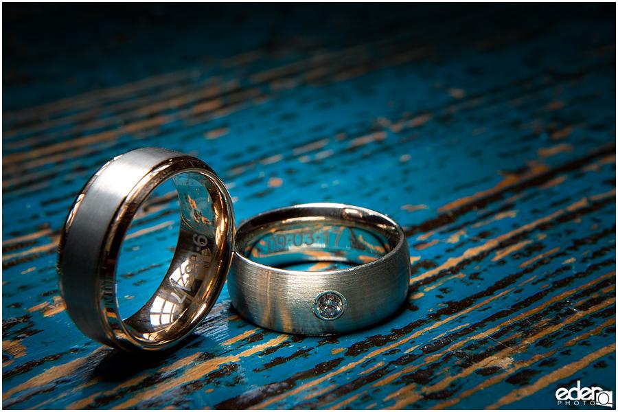 Laguna Beach Wedding - ring photo.