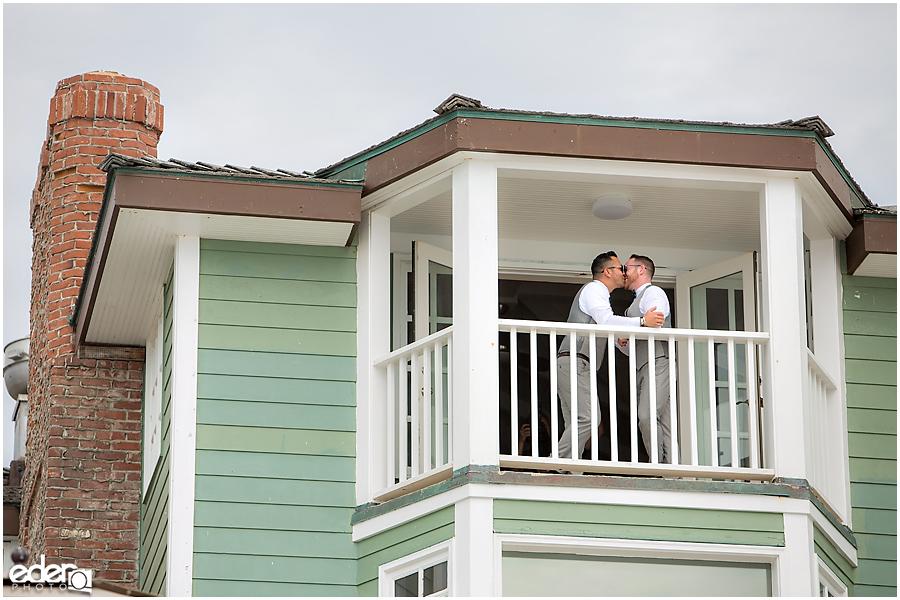 Laguna Beach Wedding - Suite at Pacific Edge Hotel.